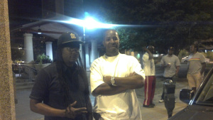 "K.G. Bethlehem & F. Kenneth Taylor; down STL 2011.  oh the dude with the red pants in the background; Joel ""Yoel"" Charles"
