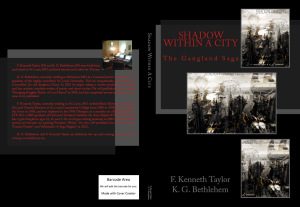 Shadow Within A City Written by F. Kenneth Taylor & K. G. Bethlehem