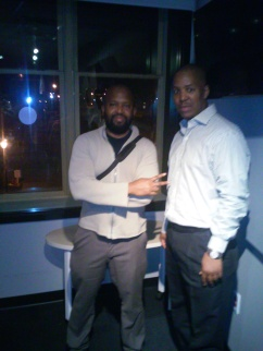 KDHX 88.1fm Radio Interview MK Stallings, Host (L) ~ F. Kenneth Taylor (R)