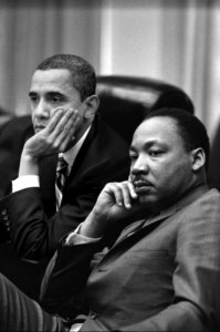President Barack Obama Martin Luther King Jr.