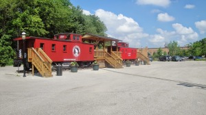 Ferguson's Historic Wabash Railroad & Caboose Photo by 250years250cakes.blogspot.com