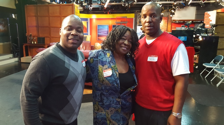 F. Kenneth Taylor w/Andre Holman; Stat. Mgr. STL TV & Ms. Princess; Owner, Princess Delights ~ St. Louis, MO 2016
