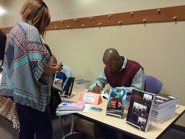 F. Kenneth Taylor Signs Autograph @ 8th Annual Author Shout Out - St. Louis, MO 2015