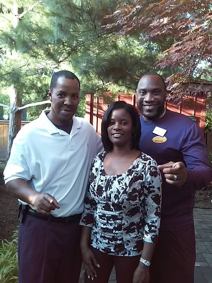 F. Kenneth Taylor w/Danita Smith; Owner of My Blooming Health & Ricky L. Hopkins Sr; Owner of A-List Realtors - St. Louis, MO 2015