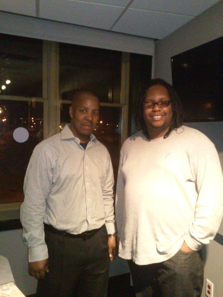 F. Kenneth Taylor (L) w/Author & Poet Kaiserriffic - St. Louis, MO 2015