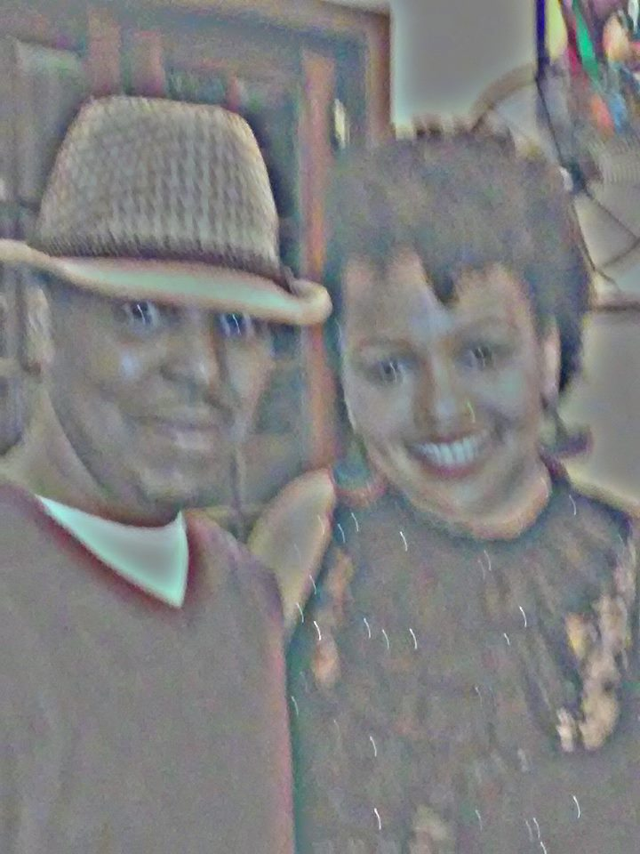F. Kenneth Taylor w/Poetess Queen Sheba - Washington, DC 2015