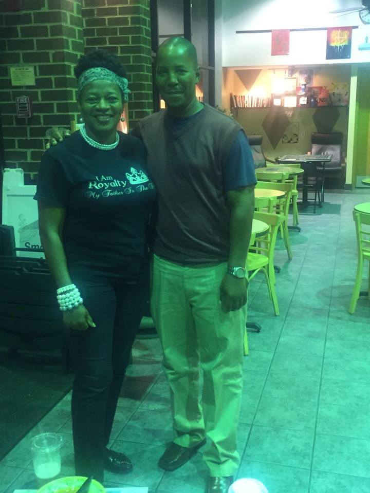 F. Kenneth Taylor w/CWN CEO, Rosie Rogers - Woodlawn, VA 2015