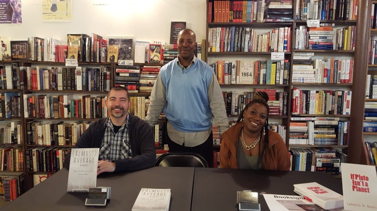 F. Kenneth Taylor w/Some'n Unique Magazine Writers, Lakesha Mathis & Jason Nugent