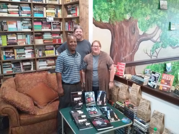 The Book House Bookstore Owners, Dave & Michelle - St. Louis, MO 2015