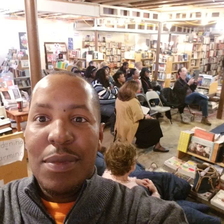 F. Kenneth Taylor - 1st Poetic Vibez @ The Book House - Jan. 2018
